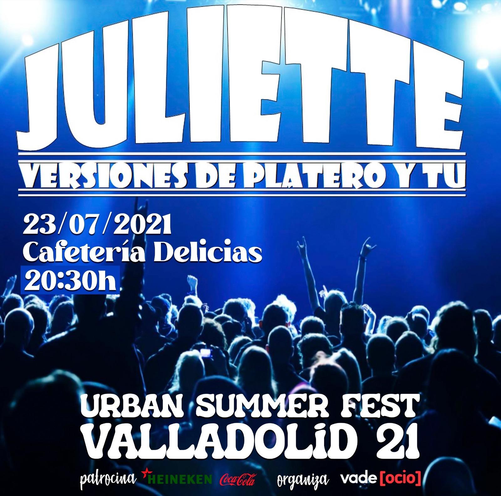 Juliette tributo a Platero #USFValladolid21