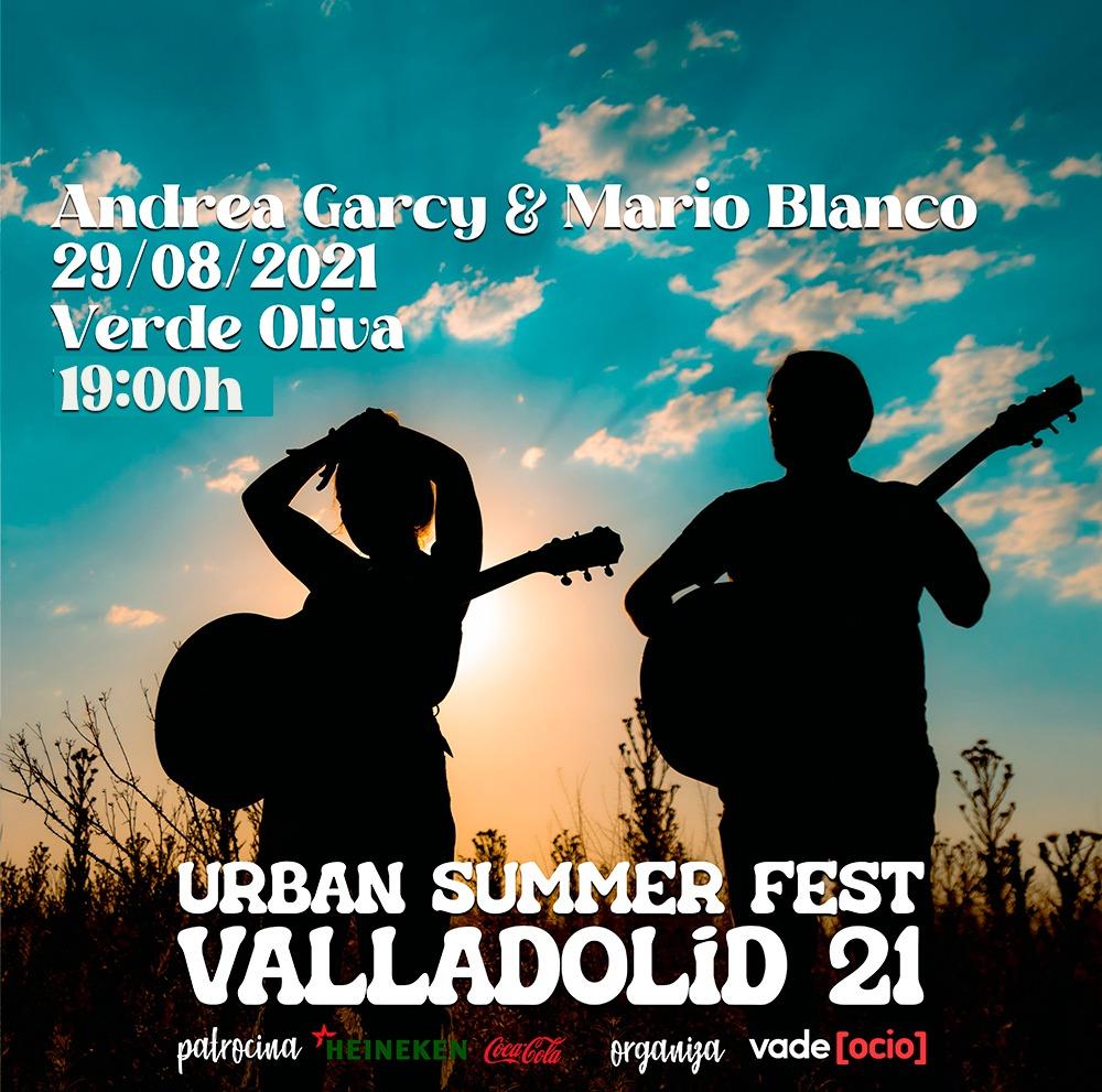 Andrea Garcy y Mario Blanco #USFValladolid21